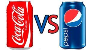 pepsi versus coca cola