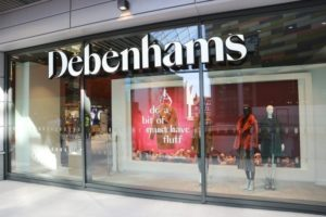 Debenhams retail store
